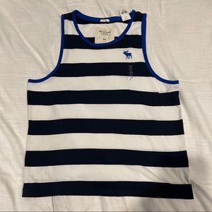 Abercrombie and Fitch striped tank top size XXL